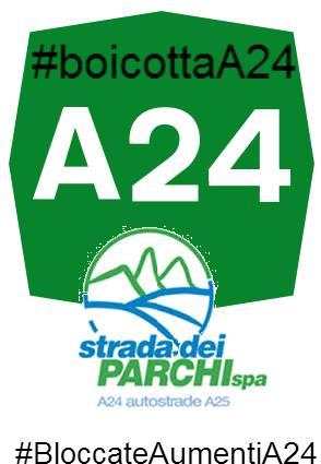 chiusura autostrada A24