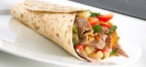 Piadina kebab